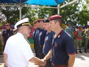 Gibuti/ Missioni operative. La visita dell'Amm. Binelli Mantelli, Capo di Stato Maggiore della Difesa