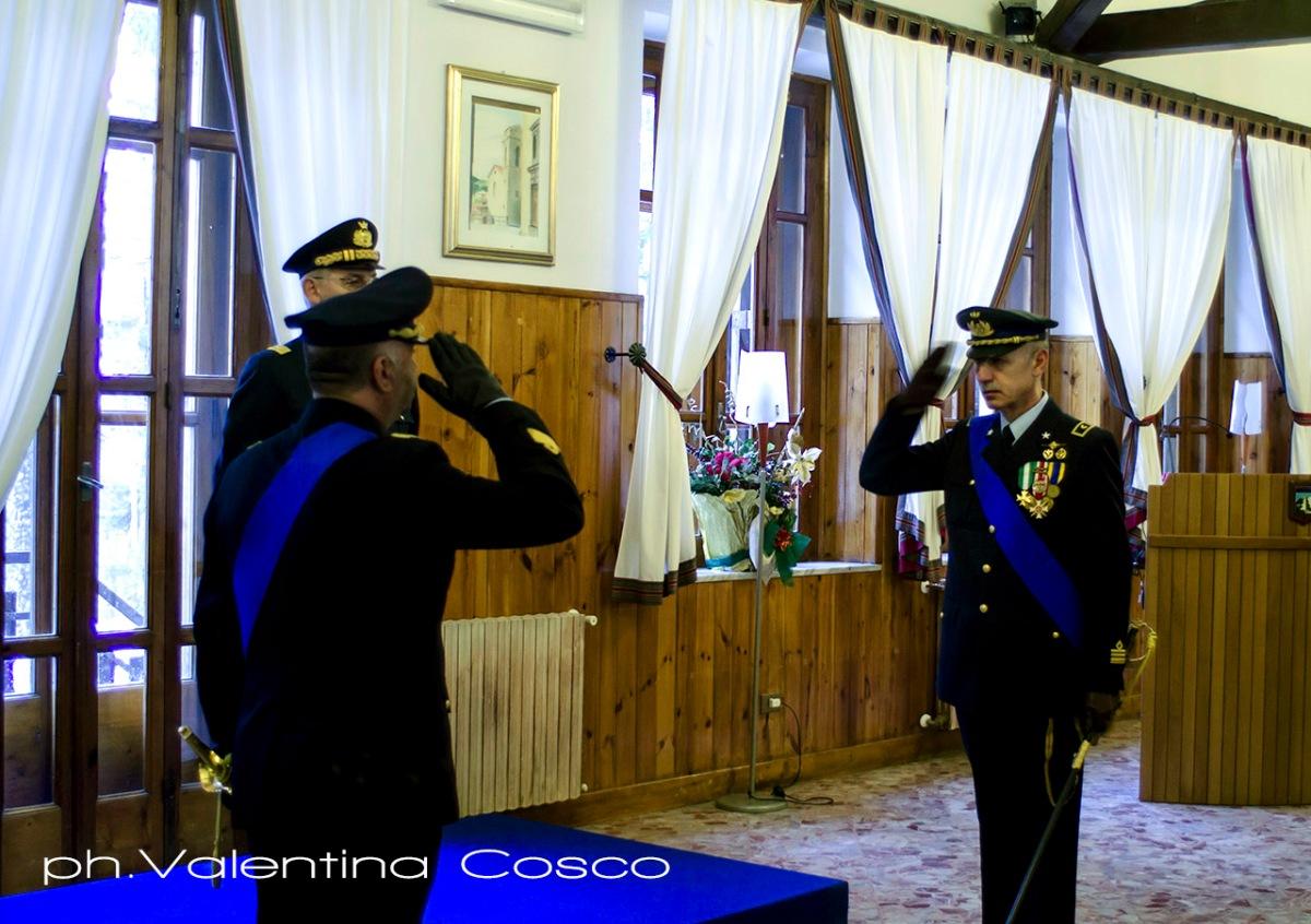 Monte Scuro/ Calabria. Cambio tra comandanti al Distaccamento Aeronautico