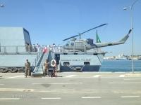"Elicottero a bordo di Nave ""Comandante Cigala Fulgosi"""