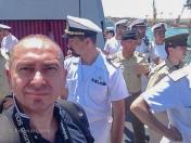 """In foto: Antonio Conte, Fotoreporter per """"Rassegna Stampa Militare"""" ha partecipato alla Giornata VIP Media Day del 21 Giugno 2013 dell'Esercitazione """"Canale 2013"""""""