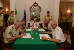 DEFENCE COOPERATION INITIATIVE (DECI) - Secondo Meeting internazionale dei Capi di Stato Maggiore della Difesa - 18 Luglio 2013