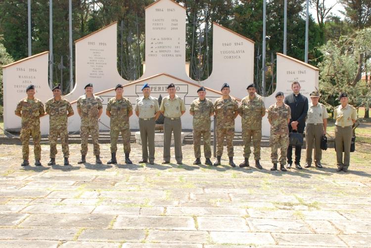 Visita del comandante delle Forze Operative Terrestri al Comando Divisione Friuli - 19 Luglio 2013