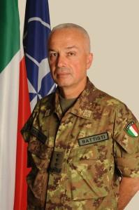 Il Generale di Corpo d'Armata Giorgio Battisti.