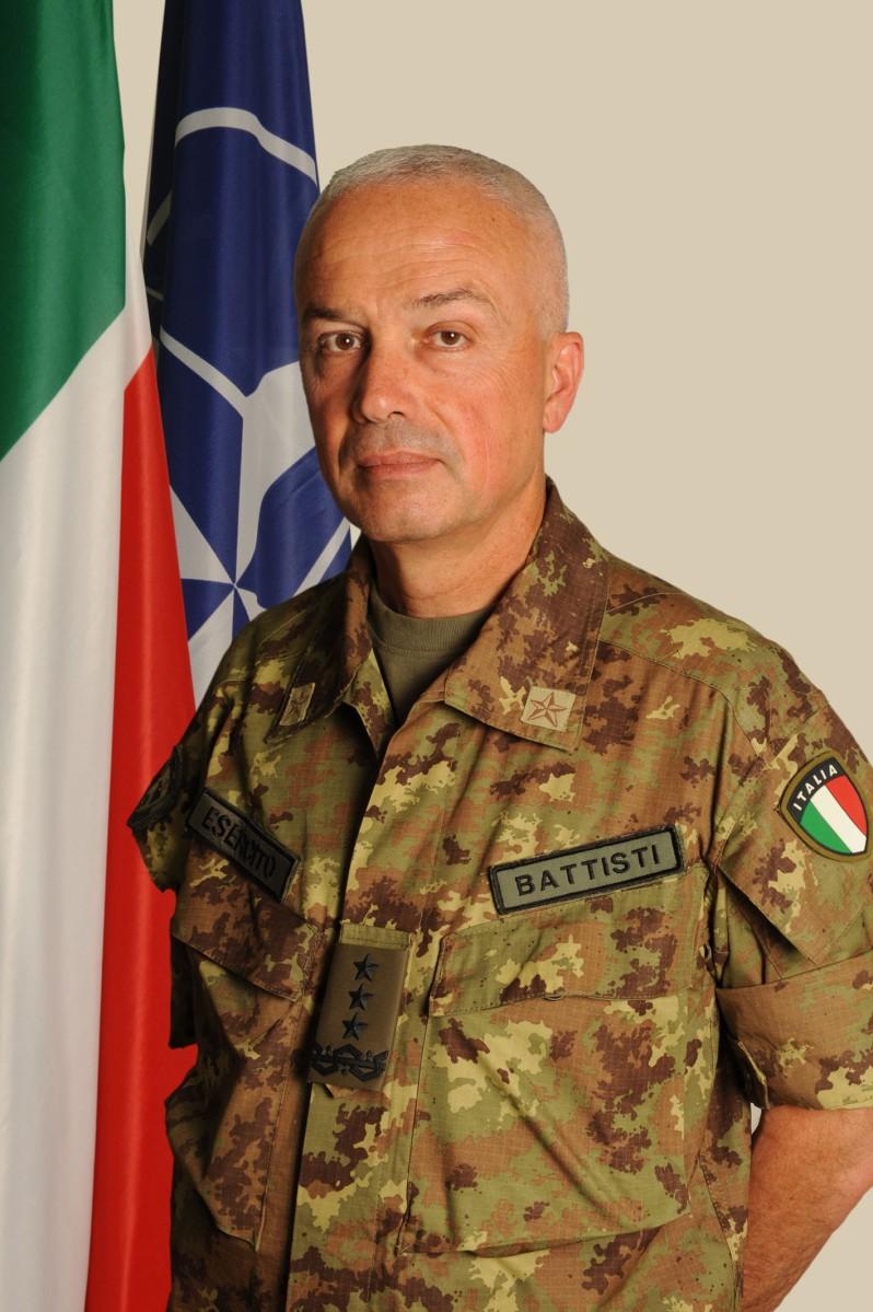 Curriculum Vitae/ Il Generale Corpo d'Armata Giorgio Battisti