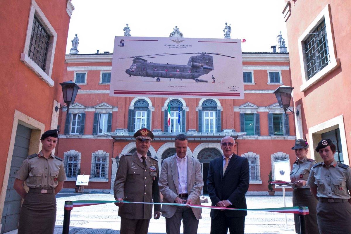 """Verona/ Palazzo """"Carli"""". Inaugurata la mostra grafica """"In volo con Giorgio Ciancia"""""""