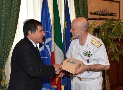 L'Ambasciatore afgano in Italia in visita allo Stato Maggiore della Difesa