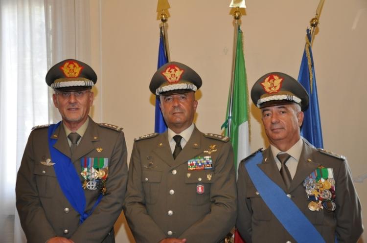 Gen. Borrini, Gen. Bernardini, Gen. Stano