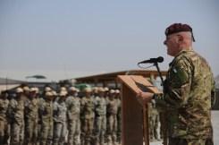 03. il generale Bertolini durante il discorso al personale della TSU-S