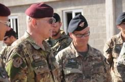 06. il generale Bertolini (sx) assieme al generale Pellegrino