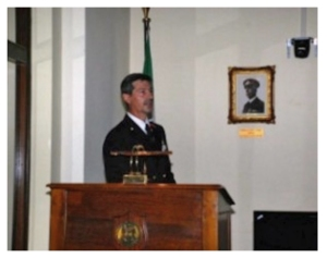 Cap. V. Roberto Tomsi, Comandante della Pubblica Informazione Difesa