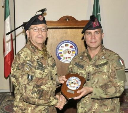 1. Il generale Michele Pellegrino e il colonnello Mauro Sindoni