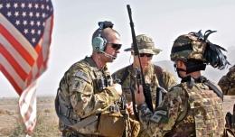 5. Bersaglieri del 6° reggimento e americani in pattuglia