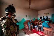 9. Bersaglieri in attività di assessment con la polizia afghana
