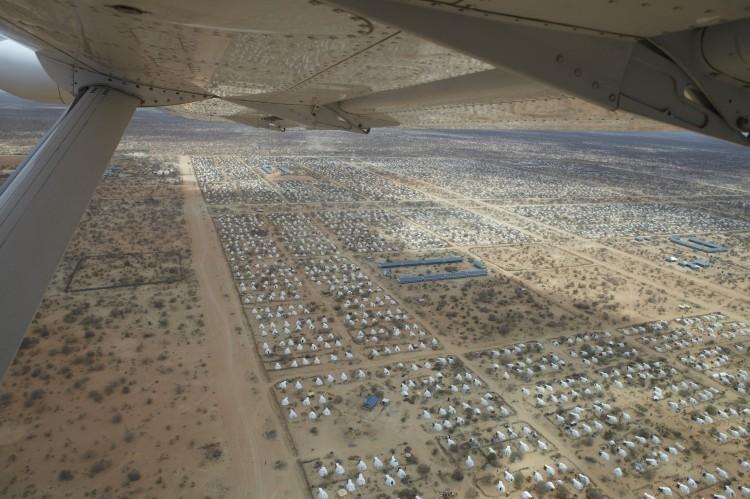 Il Campo profughi kenyano Dadaab Fonte: http://www.flickr.com/photos/oxfam/6302151099/in/set-72157627052351725#