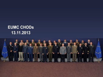 CHODs : Meeting of the EU Chiefs of Defence - CHODs: Réunion de