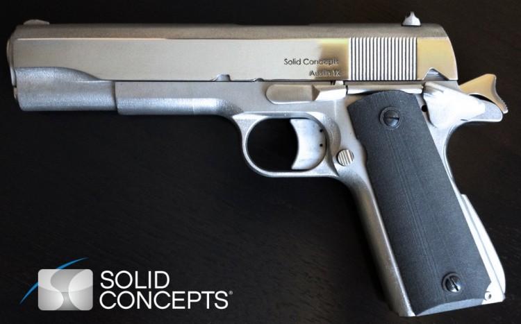 La prima pistola stampata in 3D
