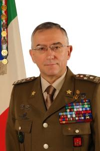 Generale di Corpo d'Armata Claudio Graziano, Capo di stato maggiore dell'Esercito italiano.