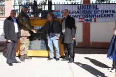 Donazione generatore elettrico