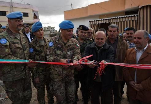 Inaugurazione strada Ayta Achaab 2