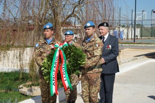 21-14. L'ASSOCIAZIONE NAZIONALE COMBATTENTI FORZE ARMATE REGOLARI GUERRA DI LIBERAZIONE IN VISITA AL CONTINGENTE ITALIANO
