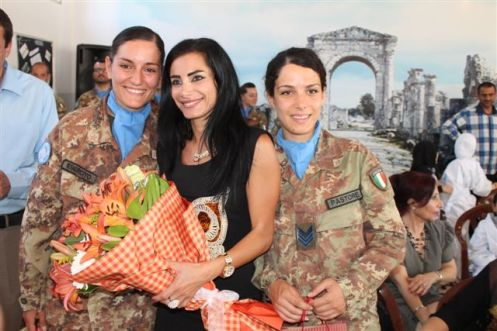 LIBANO/ CIMIC. I CASCHI BLU ITALIANI INAUGURANO UNA NUOVA STRADA REALIZZATA CON FONDI NAZIONALI ITALIANI