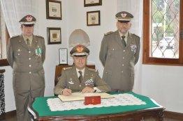 Gen. C.A. Roberto Bernardini, Gen. D. Antonio Li Gobbi, Col. Francesco Bindi