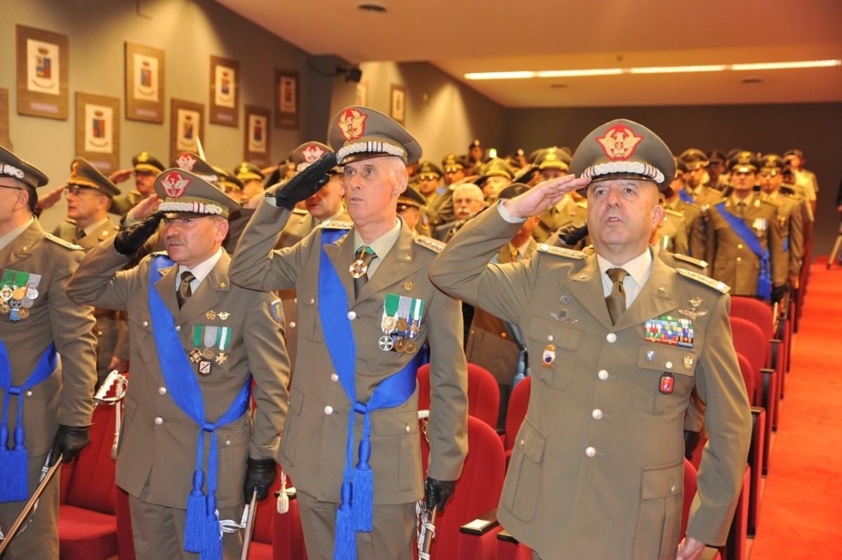 Roma/ Arma delle Trasmissioni. Cerimonia alla Presenza del Generale Bernardini