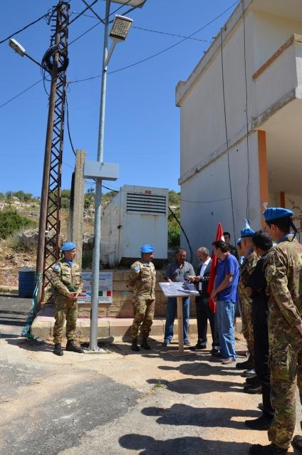 RAMYAH Inaugurazione lampioni ad energia solare (2)