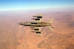 Un caccia AMX sui cieli d'Afghanistan - FOTO AM
