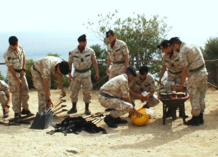 I Bersaglieri del 6° in addestramento per affrontare pubbliche calamità