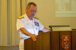 L'Amm. Sq. Rinaldo Veri, Presidente del Centro Alti Studi per la Difesa (CASD)
