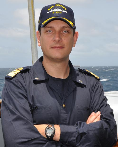 Capitano di fregata MARCO ANTONIAZZI