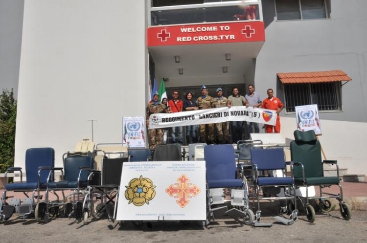 Donazione a Croce Rossa di Tiro
