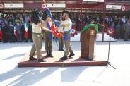 il passaggio della bandiera di guerra del 6° reggimento bersaglieri