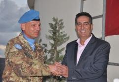 Ten. Col. ABBATINALI e Sindaco di Al Qulaylah