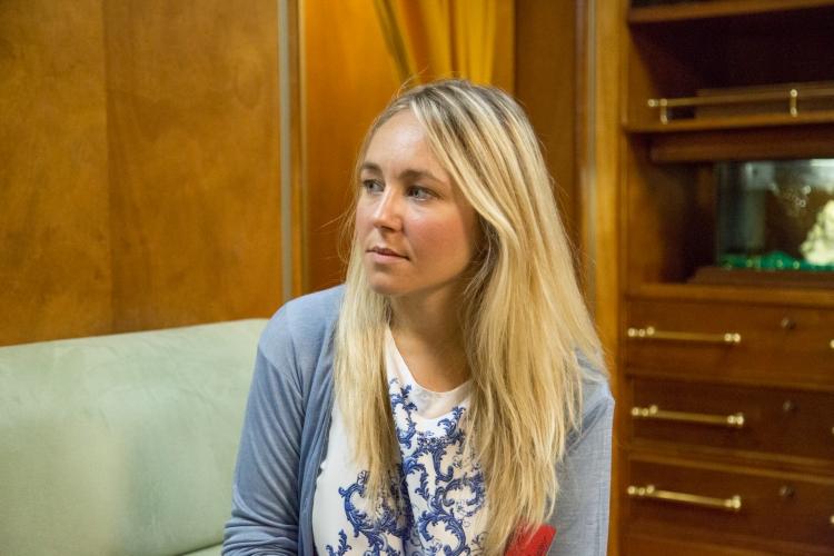 La dott.ssa Federica Fanuli, impegnata in studi di Geopolitica