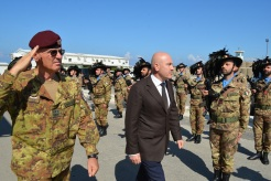 13.10.2014 ToA Unifil Sector West - Arrivo On. ALFANO (1)
