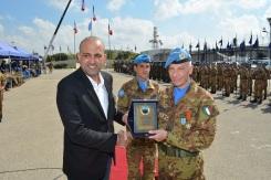 13.10.2014 ToA Unifil Sector West - Gen. POLLI riceve la cittadinanza onoraria di Shama (6)