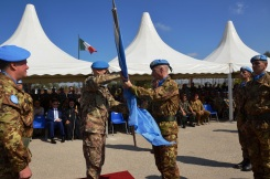 13.10.2014 ToA Unifil Sector West - Gen. POLLI riconsegna la bandiera dell'ONU (7)