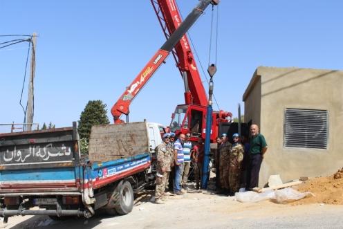 Inaugurazione pompa per l'acqua a Mahrunah (1)