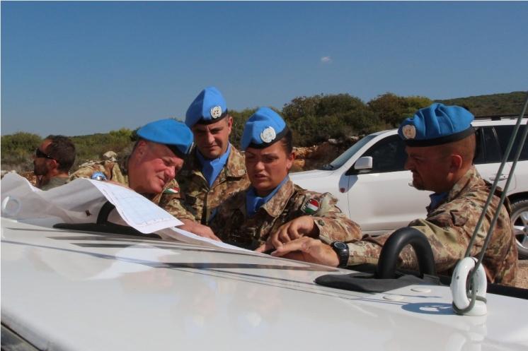 pattuglia Guide con Gen. Del Col