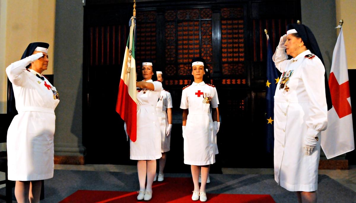 Roma/ Croce Rossa, Palazzo del comitato centrale. Sorella Monica Dialuce Gambino subentra a Sorella Mila Brachetti Peretti
