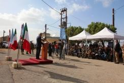discorso sindaco Shama