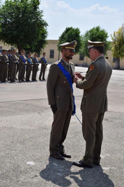 Croce di Bronzo al Merito dell'Esercito al Capitano Vincenzo Priore