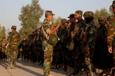 briefing del Comandante delle KSF prima dell'esercitazione (2)