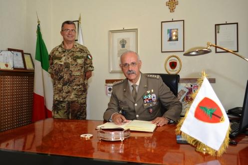 firma Albo di Onore comando Pinerolo