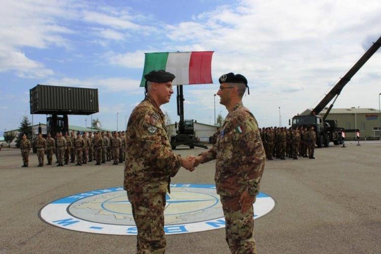 Conferimento della Medaglia NATO-1