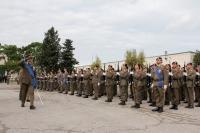 comandante del reggimento rassegna il reggimento