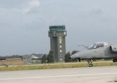 AMX atterraggio aeroporto TRAPANI a