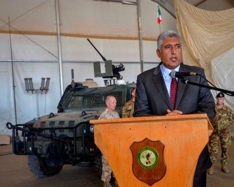 Governatore della Provincia di Her Mr Asif Rahimi